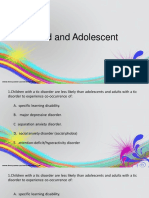 Child and Adolescent PRITE