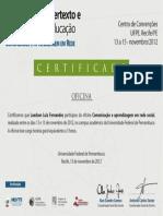 certficado hipertexto Laedson Luiz Fernandes.pdf