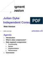Data Segment Compression