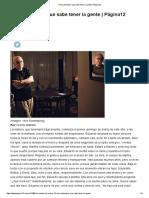 Vicente Battista - Una Costumbre Que Sabe Tener La Gente (Página12)