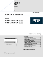 Mitsubishi Electric MSZ-DM VA Service Manual Eng