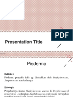 pioderma ppt