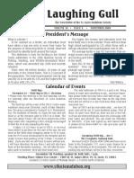 November 2009 Laughing Gull Newsletters St. Lucie Audubon Society