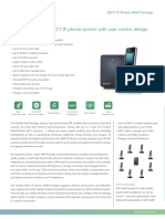 Yealink W60 VoIP High-Performance IP DECT Phone Datasheet
