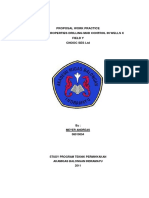 Proposal Kerja Praktek (KP) (English)