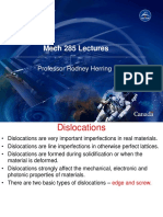 Dislocations & Surface Defects