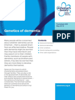 405 Genetics of Dementia 2