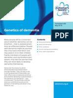 405 Genetics of Dementia 2