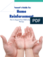 Parent Guide to Speech Therapy Home Reinforcement