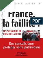 France, La Faillite - Les Scénarios de Crise de La Dette