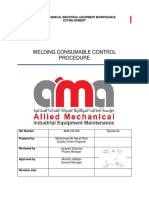 Welding Consumable Control Procedure (AMAEST)
