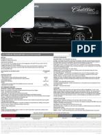 2010 Cadillac Escalade ESV Brochure Heyward Allen Motor Company Atlanta, GA