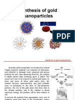Synthesis of Gold Nanoparticles