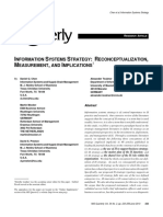 A Information Systems Strategy Chen MSQuarterly