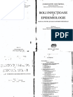 CBocarnea-Boli Infectioase Si Epidemiologie