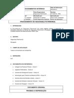 PSP-02 - Procedimento de Segurança Patrimonial
