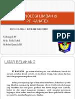 Pengolahan Limbah Terkstil Pt. Kahatex