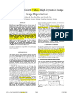 Hardware-Efficient Virtual High Dynamic Range Image Reproduction