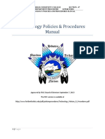 Technology Policies Procedures