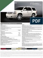 2010 Cadillac Escalade Hybrid Brochure Heyward Allen Motor Company Atlanta, GA