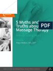 5 Myths and Truths About Massage Therapy Final