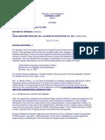 Serrano vs Gallant Maritime Services In