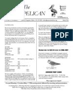 March 2006 Brown Pelican Sarasota Audubon Society