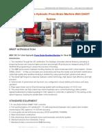 MB8 CNC 8+1 Axis Hydraulic Press Brake Machine With DA66T System
