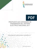 Informe Propuesta Expansión Coordinador Enero 2017