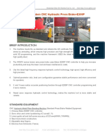 WC67K Tandem CNC Hydraulic Press Brake-E200P
