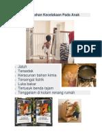 Pencegahan Kecelakaan Pada Anak(Lembar Balik)
