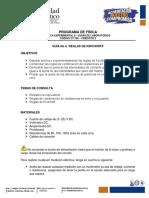 Guía No 4. Reglas de Kirchoff