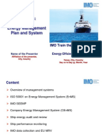 M6 Energy Management System and Plan - IMO TTT Course Presentation Final1