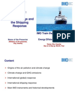 M1 Climate Change and Shipping - IMO TTT Course Presentation Final1
