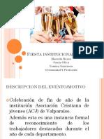 Fiesta Institucional Privada
