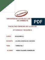 Trabajo de Bioquimica i