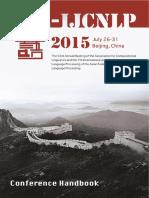 Acl 2015 Handbook