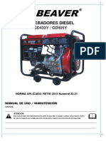 Catalogo Generadores Diesel BEAVER (1)