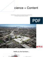 Content Data Science Netflix