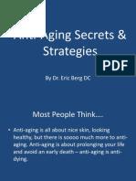 Anti-aging Secrets & Strategies.ppt