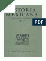 Historia Mexicana 246 Volumen 62 Número 2.pdf