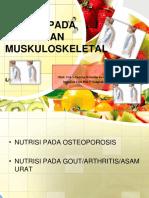 11 a. Nutrisi Pada Gangguan Muskuloskeletal Br
