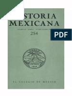 Historia Mexicana 254 Volumen 64 Número 2.pdf