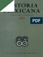 Historia Mexicana 253 Volumen 64 Número 1.pdf