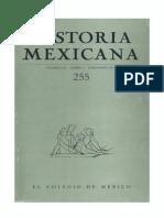 Historia Mexicana 255 Volumen 64 Número 3.pdf