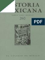 Historia Mexicana 260 Volumen 65 Número 4.pdf