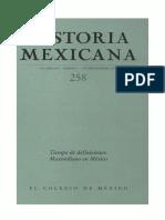 Historia Mexicana 258 Volumen 65 Número 2 - Tiempo de definiciones_Maximiliano en México.pdf