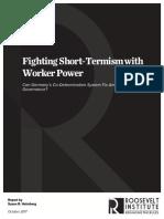 Fighting short-termism