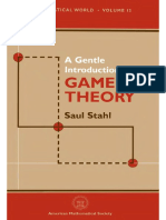 (Mathematical World, Vol. 13) Saul Stahl-A Gentle Introduction to Game Theory-American Mathematical Society (1998).Djvu