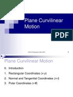 Curviiner Motion